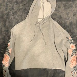 Cropped hoodie. XS. Bluenotes.